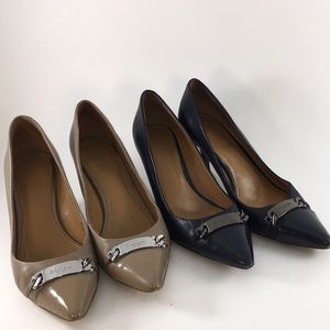 Coach Bowery Pumps- 2 pair Lot Size 9.5 and 10